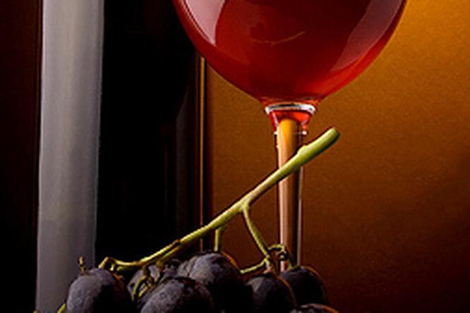 Красное вино — против жира