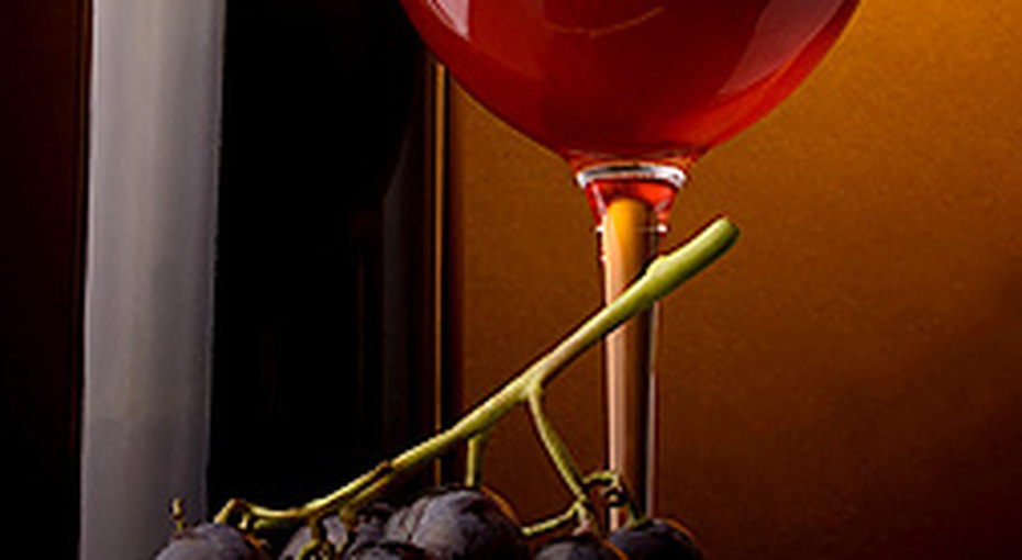 Красное вино - против жира