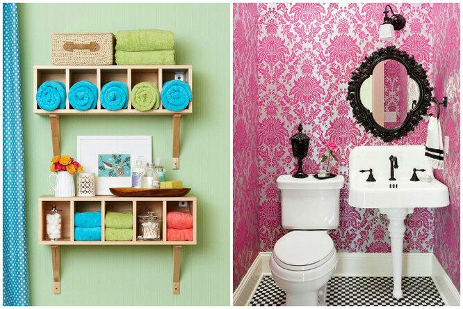 18 идей декора длямаленькой ванной