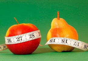Груша или яблоко? Диета по типу телосложения
