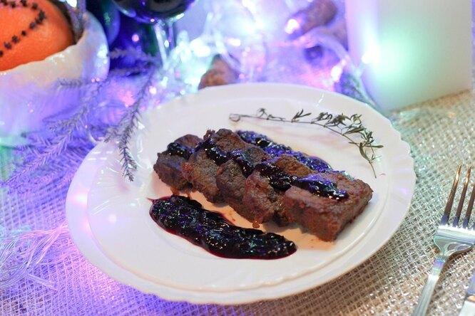 Токана с мясом кабана во французском маринаде