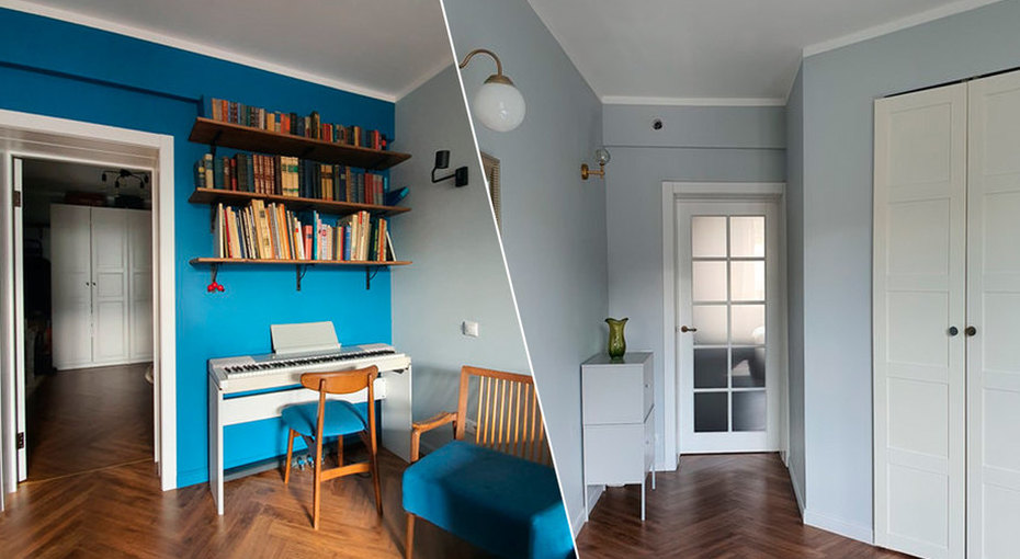 Интерьер квартиры: современный минимализм имебель изпрошлого