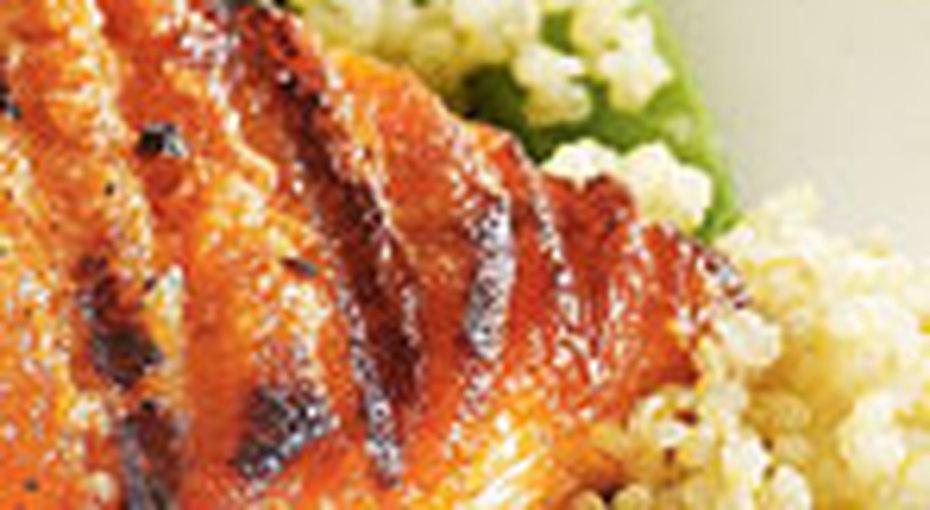 Рецепт лосося нагриле