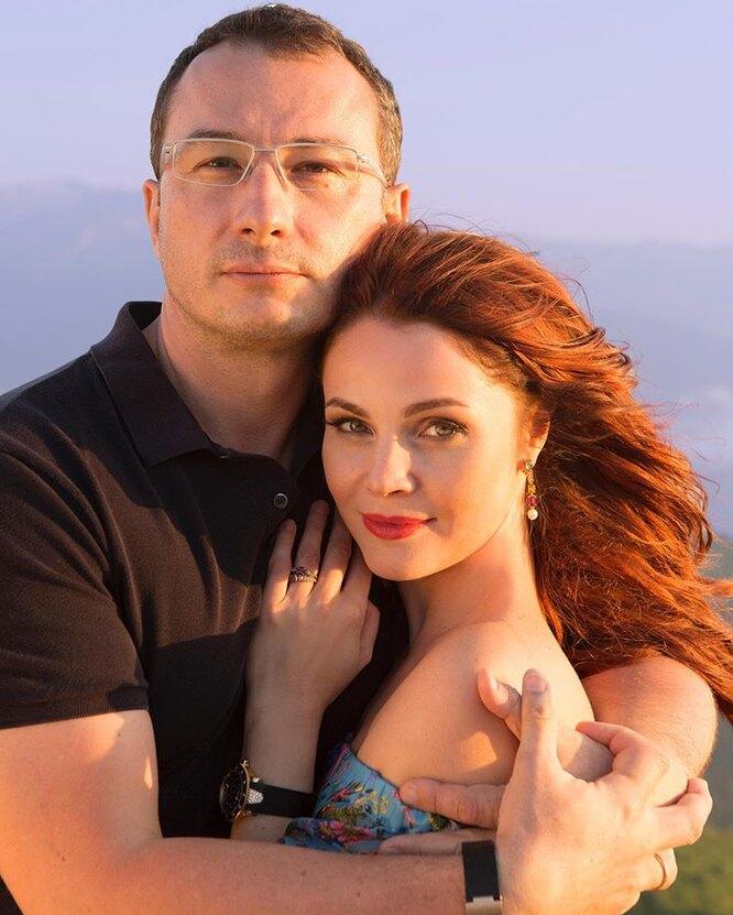 Екатерина с мужем Маратом