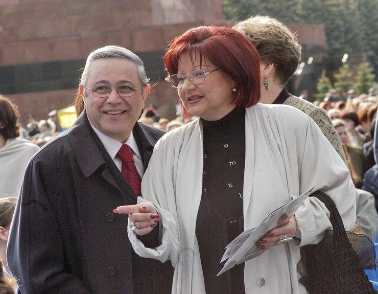 Евгений Петросян иЕлена Степаненко