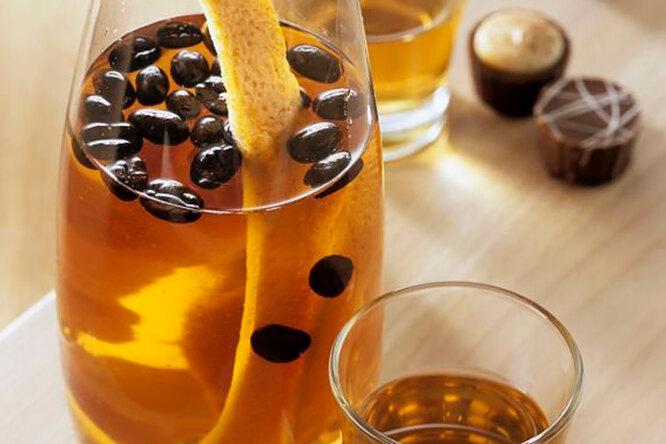 Кофейно- апельсиновый ликер