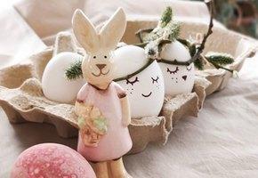 5 идей: как необычно украсить яйца к Пасхе
