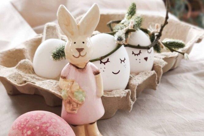 5 идей: как необычно украсить яйца кПасхе