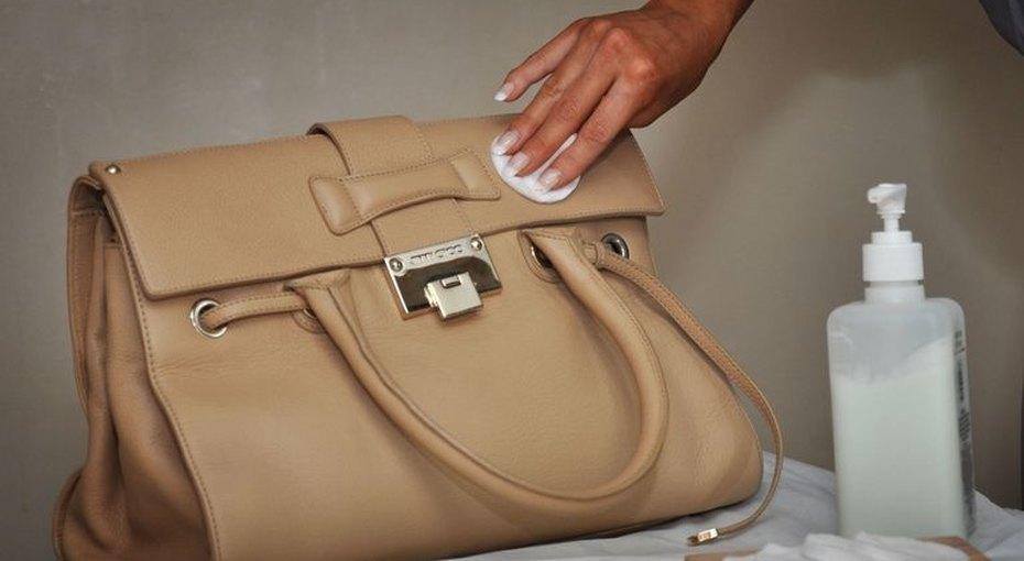 Как чистить дамские сумочки икошельки
