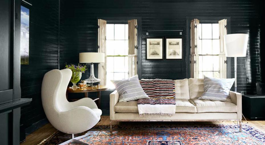 Как использовать темный цвет в интерьере и не сожалеть об этом