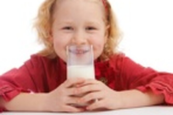 От жирного молока.... худеют