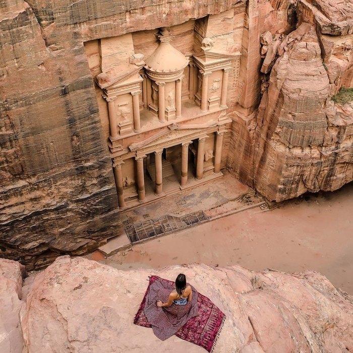 Древний город Петра вИордании