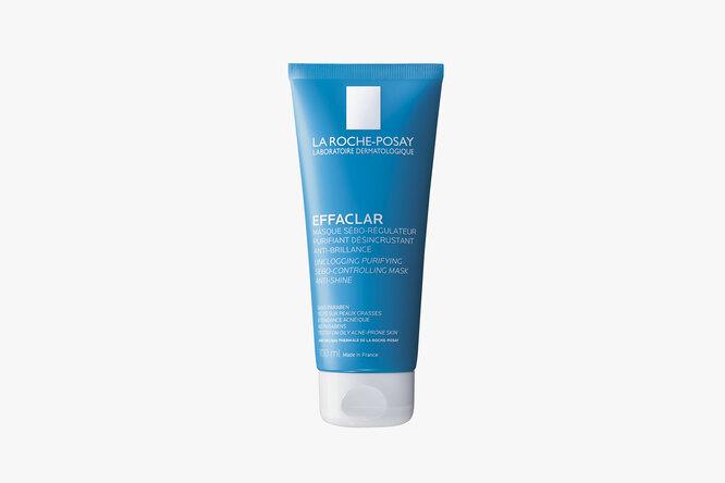 Очищающая матирующая маска для жирной проблемной кожи c двумя видами минеральной глины Effaclar, La Roche-Posay