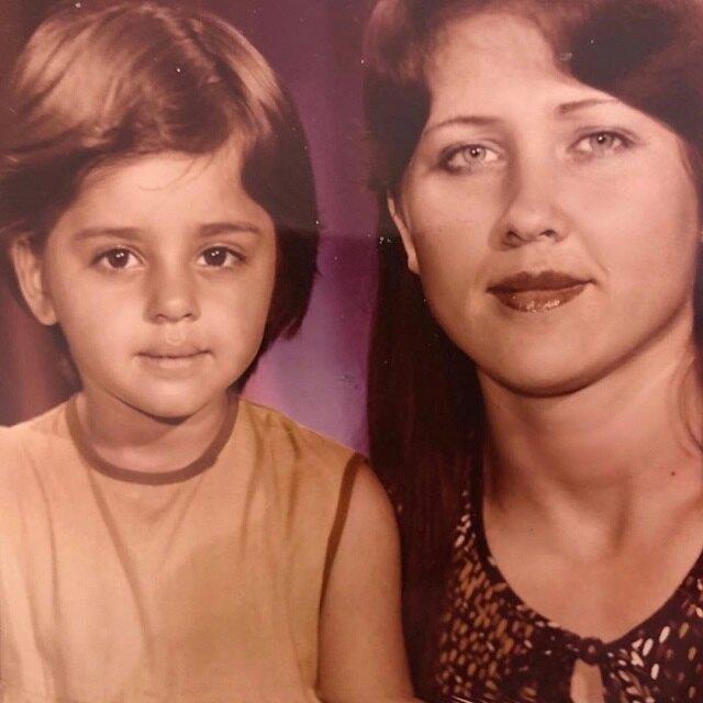 Анжелика Ревва с мамой