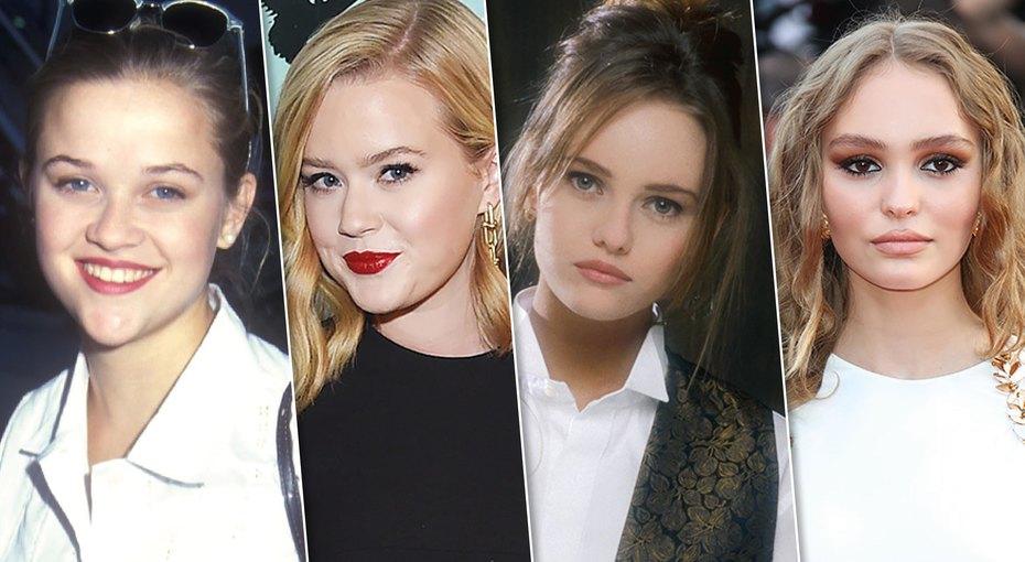 Ровесницы изпрошлого: как выглядели звезды ввозрасте своих известных дочерей