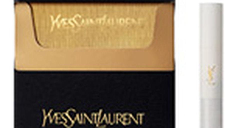Yves Saint Laurent продает вРоссии сигареты