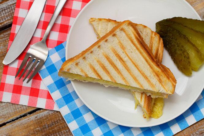 Тост с сыром