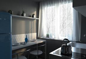 Это«хрущевка»?! Каким может быть дизайн самой маленькой и неудобной квартиры