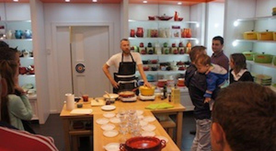 Кулинарный мастер-класс Максима Ливси вLe Creuset