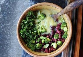 Готовим в пост: пюре с хреном, рагу со шпинатом, фасолевый суп и другие рецепты