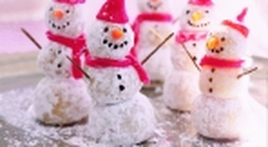 В компании снеговиков