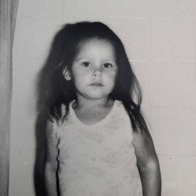 Актриса в детстве