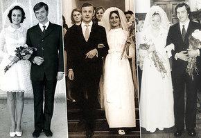 Уж замуж невтерпеж: в каких свадебных нарядах  блистали в ЗАГСах звезды СССР