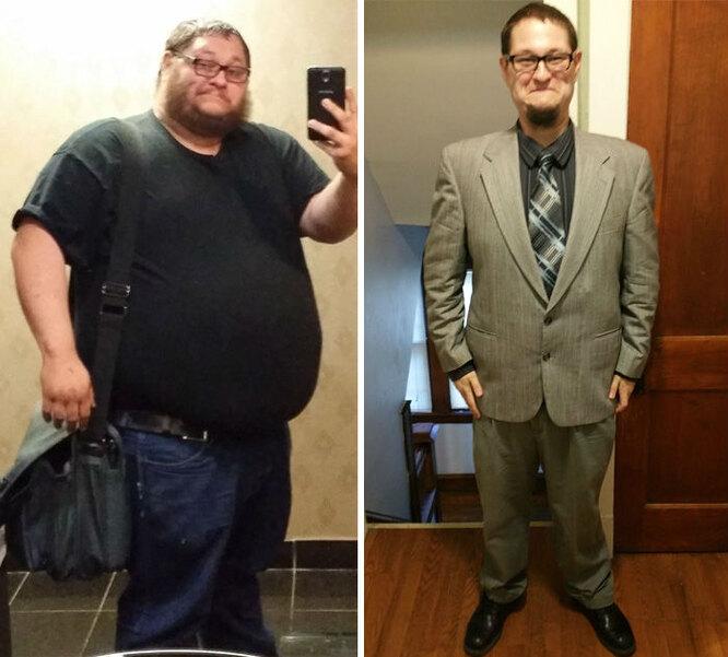 Похудел на 100 кг за год
