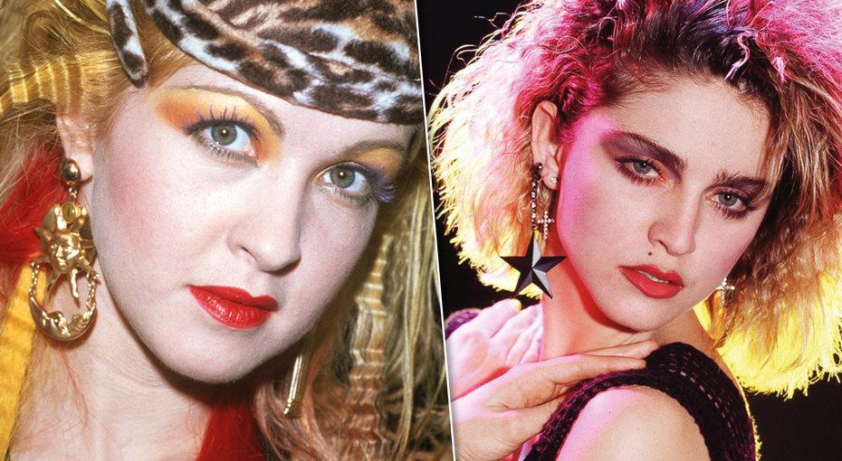 Как менялась мода намакияж последние 35 лет