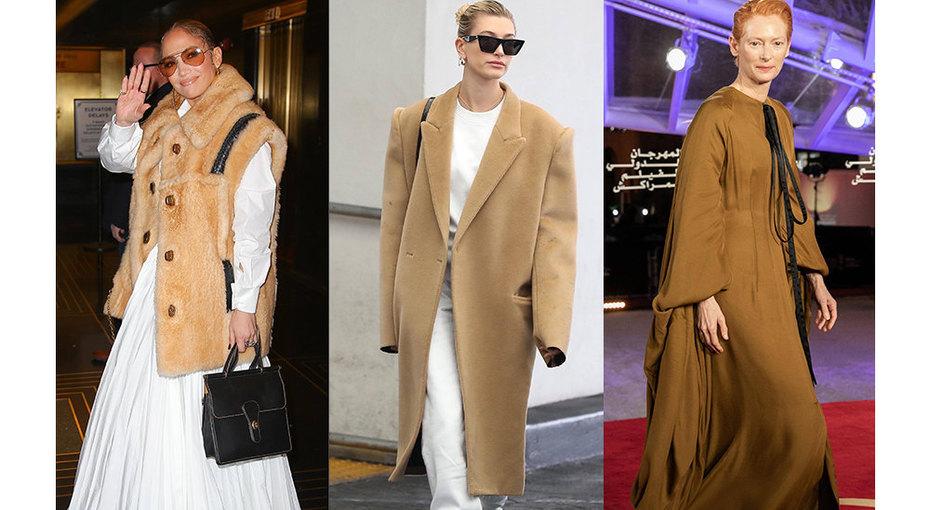 Пальто, как уДжей Ло: 5 модных образов сочень объемными вещами