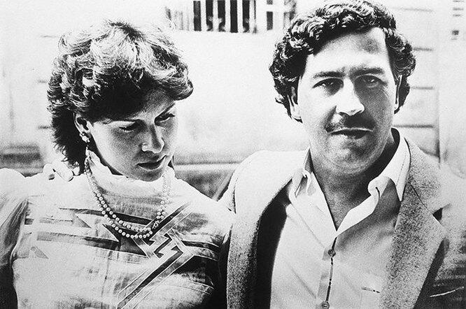 Мария Эскобар и Пабло Эскобар