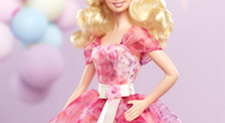 Кукла Барби празднует День Рождения!