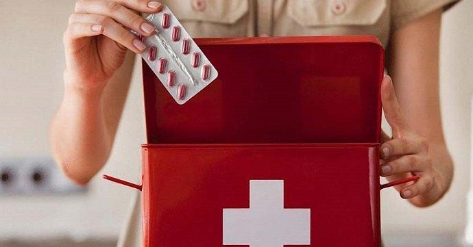 Таблетки первой необходимости в аптечке