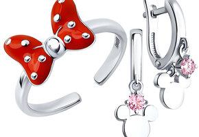 Российский бренд выпустил линейку ювелирных украшений совместно с Disney