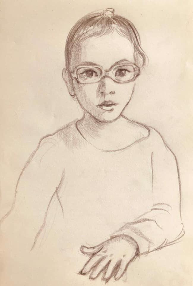 Портрет девочки С., сделанный по описанию