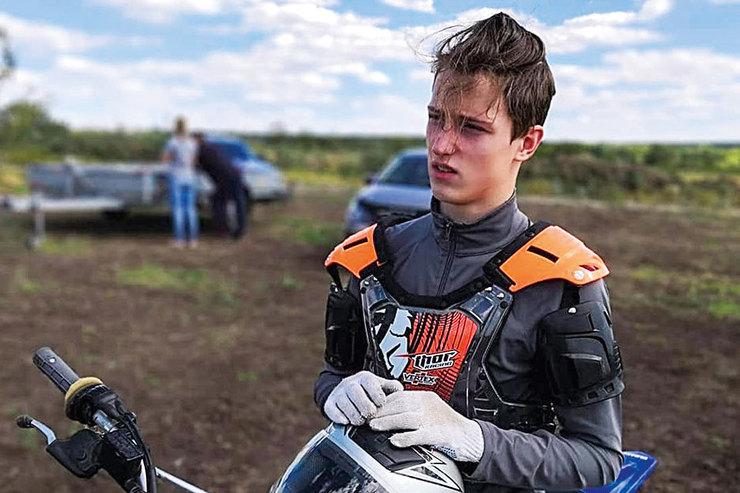 Алексей увлечен мотоспортом