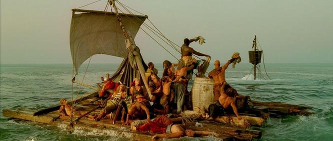 """Кадр из фильма """"Астерикс и Обеликс: миссия Клеопатра"""""""