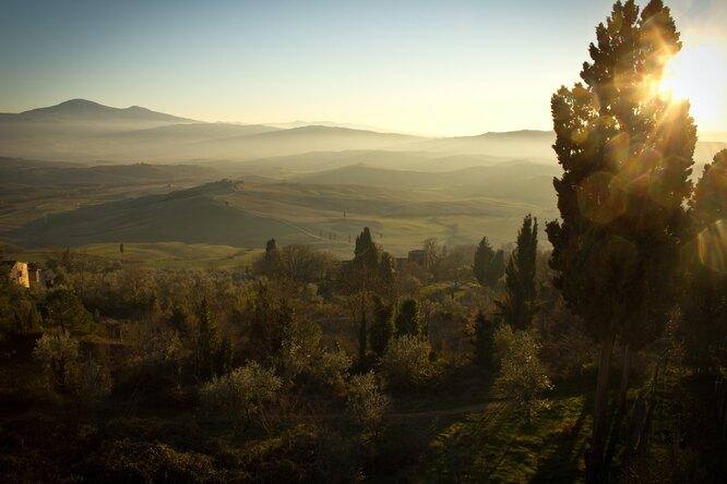 долина тоскана