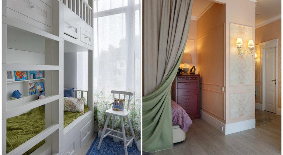 5 проектов: Однокомнатная квартира длясемьи сребенком
