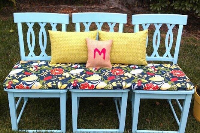 7 креативных идей поиспользованию старых стульев