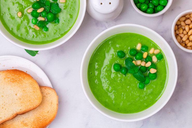 Рецепт супа иззелёного горошка