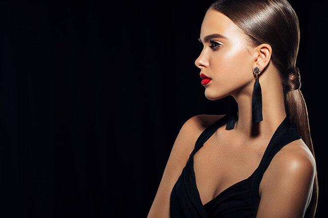 Сексуальная комбинация: как правильно носить красное счерным