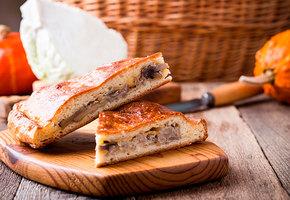 Рецепт с видео: пирог с капустой и курицей готовит шеф-повар