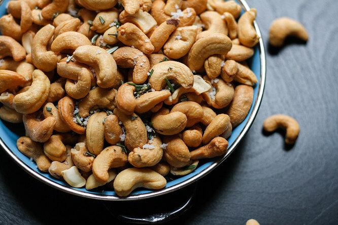 Бобы и орехи