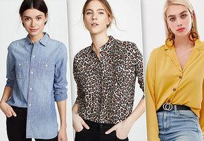 Must have весны: рубашки, которые должны появится в вашем гардеробе