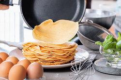 Погружная сковородка, дозатор теста идругие гаджеты длявыпечки блинов