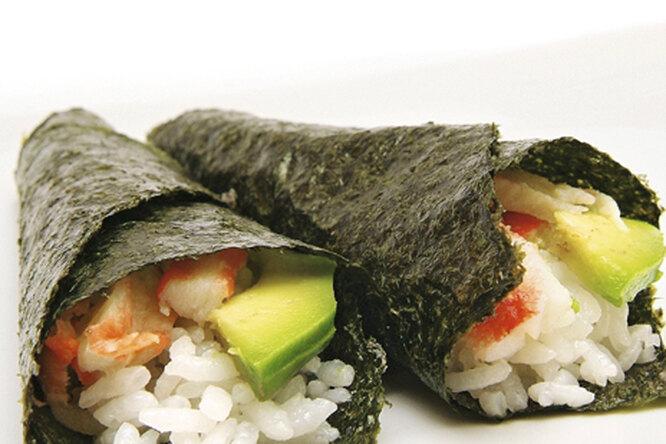Темаки - суши с крабом