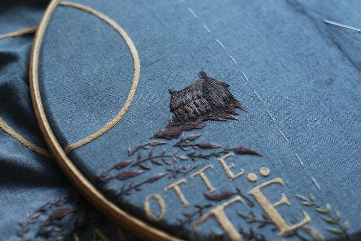 Найдена королева вышивки. Это фантастически красиво!