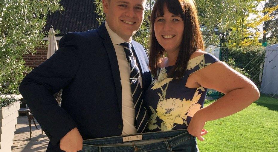 Невеста похудела на40 килограммов после того, как увидела свадебное платье 52 размера