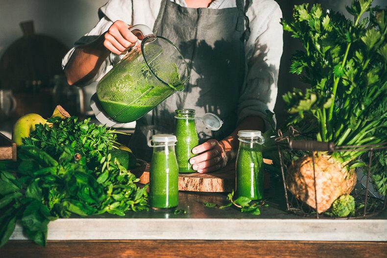 Рецепты смузи: 5 постных ивитаминных напитков